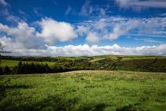 Una visión a través de Exmoor imagen de archivo