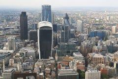Una vista aérea de la ciudad de Londres Fotos de archivo