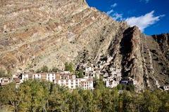 Una vista aérea del monasterio de Hemis, Leh-Ladakh, Jammu y Cachemira, la India Fotos de archivo libres de regalías