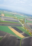 Una vista aerea Immagini Stock