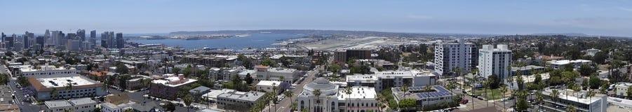 Una vista aerea di giorno di San Diego Immagine Stock