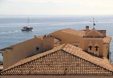 Una vista al mar Imagen de archivo