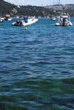 Una vista al mare a Bosphorus Immagine Stock Libera da Diritti