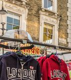 Una vista al mercato della strada di Portobello fotografie stock libere da diritti