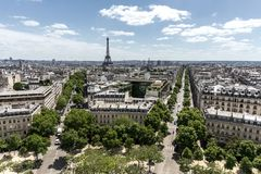 Una vista alla torre fotografie stock