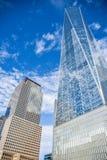 Una vista altra di una concentrare (Freedom Tower) e costruzione commerciale New York, S Fotografia Stock