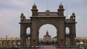 Una vista asombrosa de un templo indio metrajes