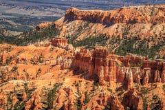 Una vista cercana de las malas sombras famosas de Bryce Canyon Imagen de archivo