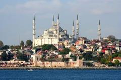 Una vista da Costantinopoli Fotografia Stock Libera da Diritti