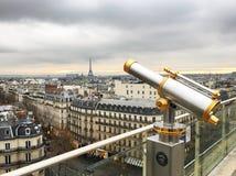 Una vista da Parigi fotografia stock libera da diritti