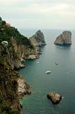 Una vista dal Capri immagine stock libera da diritti