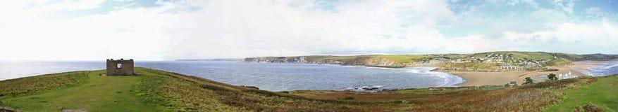 Una vista dall'isola di Burgh, Devon Fotografie Stock Libere da Diritti