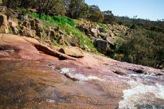 Una vista dalla cima del parco nazionale cade plateau in John Forrest N Fotografia Stock Libera da Diritti