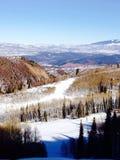 Una vista dalla cima di una montagna in Colorado Fotografie Stock Libere da Diritti