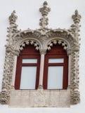 Una vista dalla finestra antica Fotografia Stock Libera da Diritti