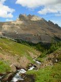 Una vista dalla traccia di escursione Fotografia Stock