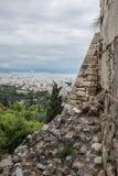 Una vista de Atenas Imagenes de archivo