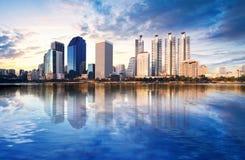 Una vista de Bangkok Imágenes de archivo libres de regalías