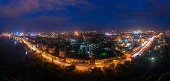 Una vista de Dnipropetrovs'k Imagenes de archivo