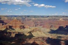 Una vista de Grand Canyon en sombras de la tarde Fotos de archivo libres de regalías