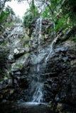 Una vista de la cascada de Caledonia en los bosques de Platres, Chipre Imagenes de archivo