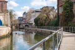 Una vista de la ciudad de Mechelen, Bélgica Fotografía de archivo