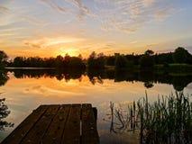 Una vista de la clavija 7 de la pesca foto de archivo