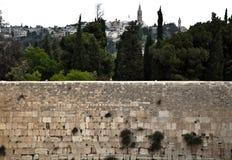 La pared que se lamenta Fotos de archivo libres de regalías