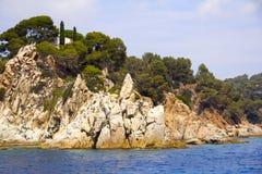 Una vista de la playa de la nave Imagen de archivo libre de regalías