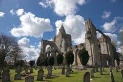 Una vista de los restos de la abadía de Crowland, Lincolnshire, Ki unido Fotos de archivo libres de regalías