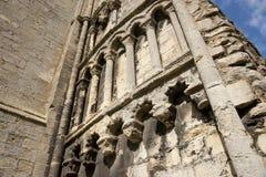 Una vista de los restos de la abadía de Crowland, Lincolnshire, Ki unido Foto de archivo libre de regalías