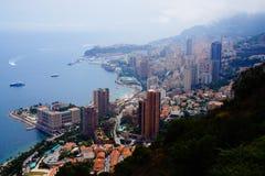 Una vista de Mónaco Imagen de archivo libre de regalías