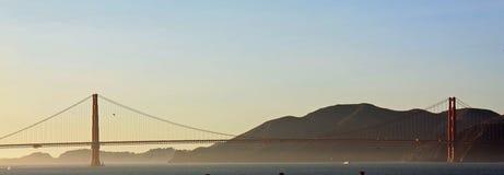 Una vista de puente Golden Gate foto de archivo libre de regalías