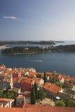 Una vista de Rovinj Fotos de archivo libres de regalías