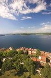 Una vista de Rovinj Fotos de archivo
