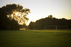 Una vista del campo común del oeste, Lincoln, Lincolnshire, Reino Unido Fotos de archivo