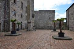 Una vista del castello di Melfi in Basilicata Immagine Stock Libera da Diritti