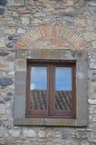 Una vista del castello di Melfi in Basilicata Immagini Stock Libere da Diritti