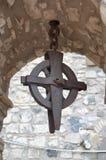 Una vista del castello di Melfi in Basilicata Immagini Stock