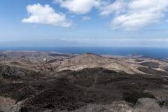 Una vista del golfo de Tadjoura de Arta, Djibouti, la África del Este Imágenes de archivo libres de regalías