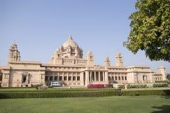Una vista del hotel del palacio en Jodhpur, Rajasthán, la India Imagen de archivo libre de regalías