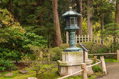 Una vista del jardín de té japonés, CA EE.UU. Imágenes de archivo libres de regalías