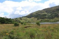 Una vista del lago Shiel Fotografia Stock