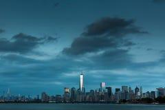 Una vista del Lower Manhattan fotografia stock libera da diritti
