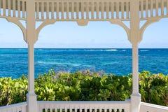 Una vista del mar Fotos de archivo libres de regalías
