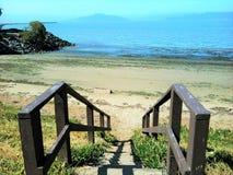 Una vista del Pacífico Foto de archivo