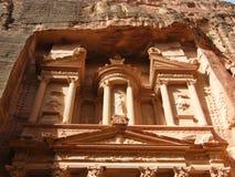 Una vista del Petra fotos de archivo libres de regalías
