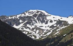 Una vista del pico de Handies en el San Juan Mountains imagenes de archivo