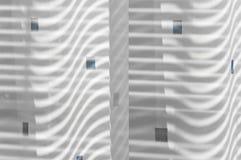 Una vista del primo piano di un pezzo di tessuto Immagini Stock Libere da Diritti