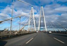 Una vista del puente Fotografía de archivo libre de regalías